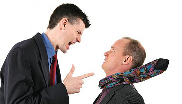 Men Arguing by Flickr user o5com