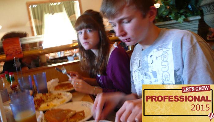 LGP-Breakfast at the family pancake house by Tim Regan